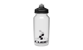 CUBE bottle 0,5l Icon transparent (Sales Unit 12)